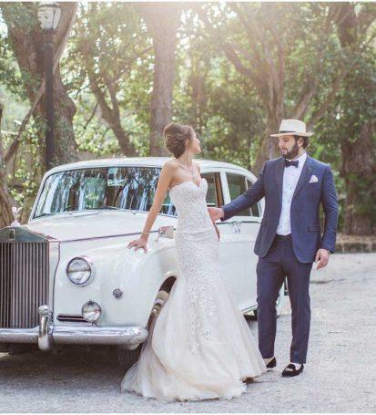 Alquiler coche clasico para bodas